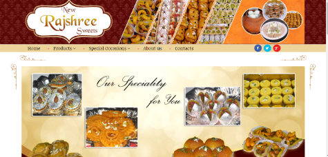 New Rajsree Sweets